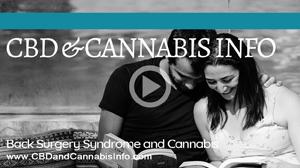 Failed Back Surgery Syndrome and Cannabis